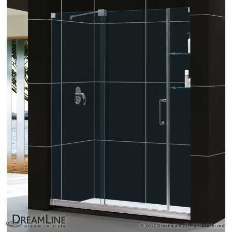 Mirage 56 to 60 in. Sliding Shower Door