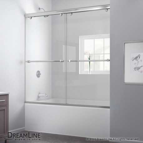 Charisma 56 to 60 in Bypass Sliding Tub Door