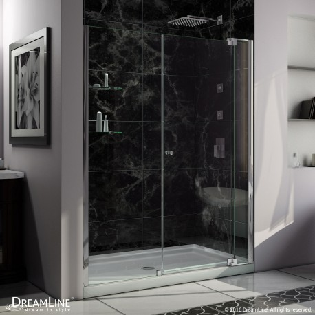 Allure Shower Door & Base