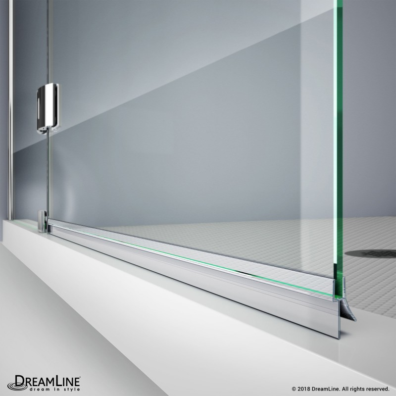 Dreamline Jt029 6 Clear Bottom Vinyl Sweep With A