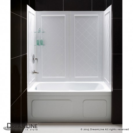 DreamLine QWALL-Tub Backwall Kit