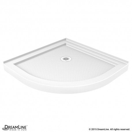 SlimLine Quarter Round Shower Base