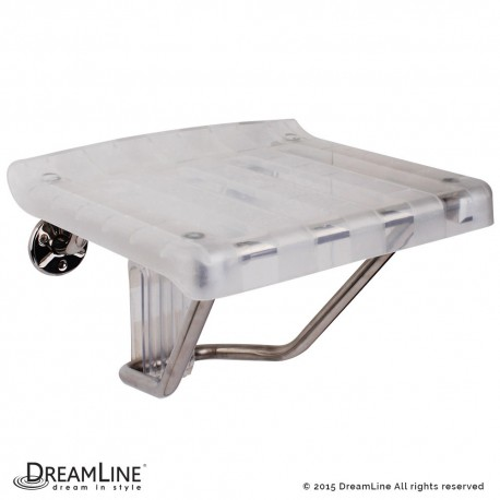 DreamLine Plastic Folding Shower Seat