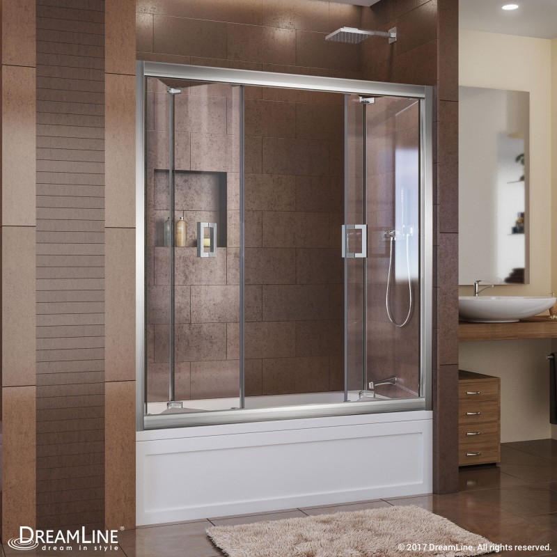 Butterfly Bi Fold Tub Door Dreamline