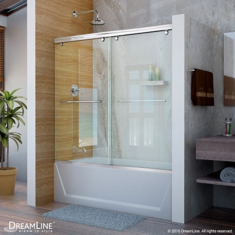 Charisma Bypass Sliding Tub Door