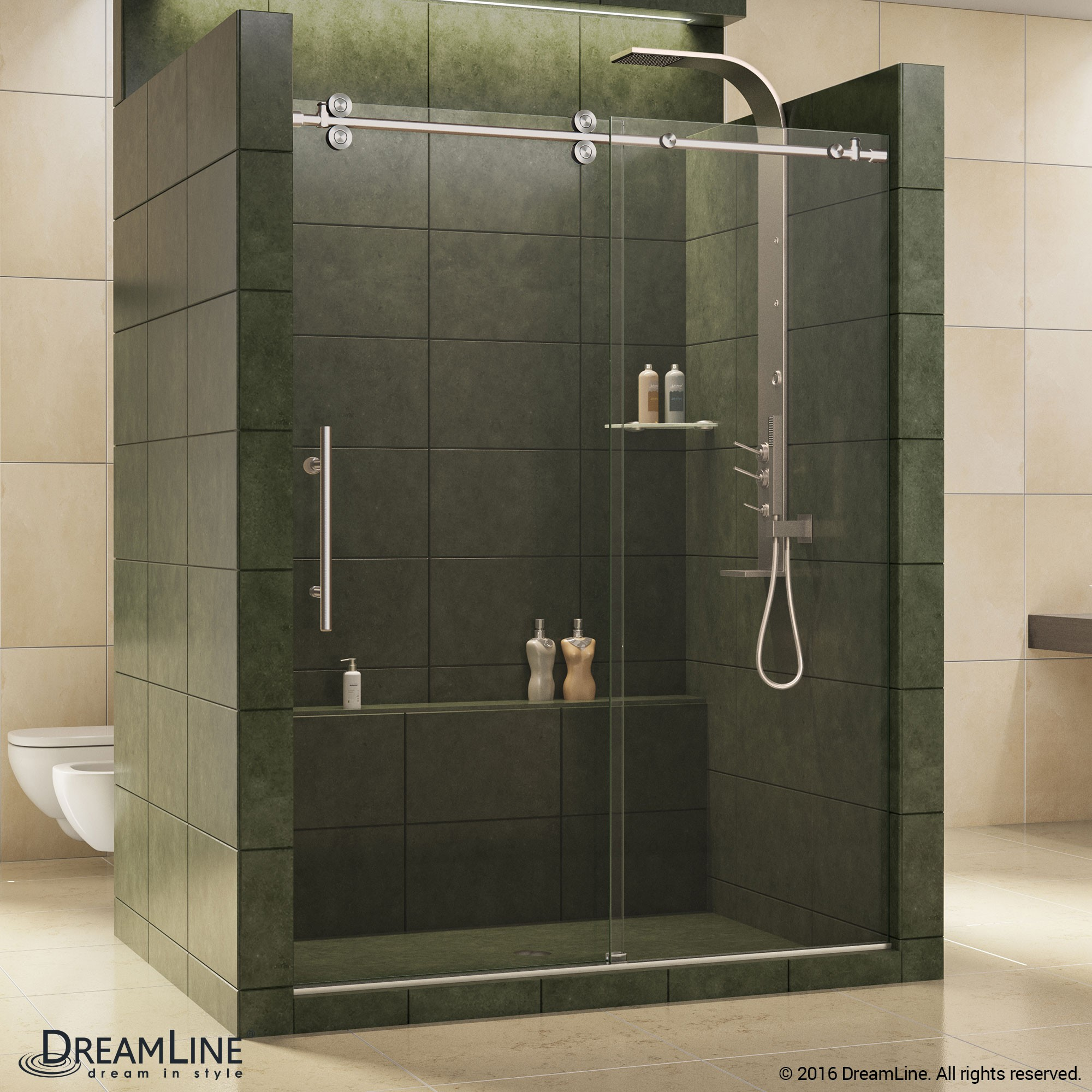 Enigma Sliding Shower Door Dreamline