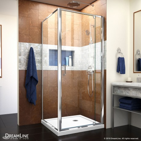 Flex Shower Enclosure & Base Kit