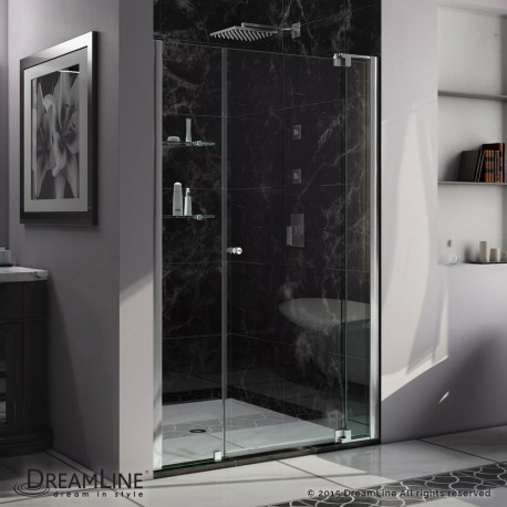 Allure 42 - 53 in. Pivot Shower Door