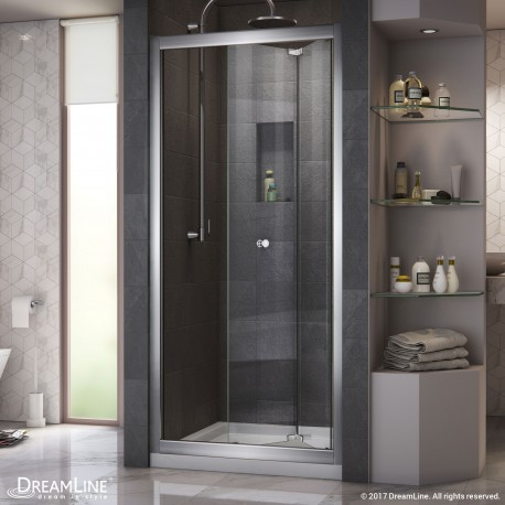 Butterfly Bi-Fold Shower Door & Base