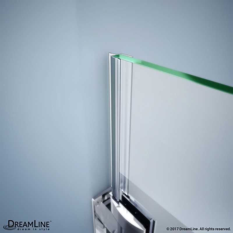 Dreamline A305bb 10 Clear Vinyl Seal With A Flexible Fin