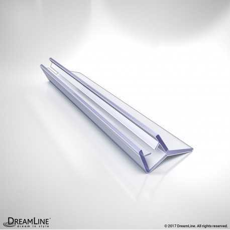 DreamLine 305B-6, Clear Bottom Sweep Vinyl, 29 3/8 in. Length, for 1/4 in. (6 mm.) Glass Shower Door