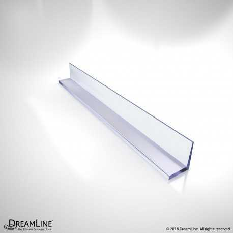 DreamLine JT055, Clear Vinyl Seal, 75 1/3 in. Length, for 5/16 in. (8 mm.) Glass Shower Door